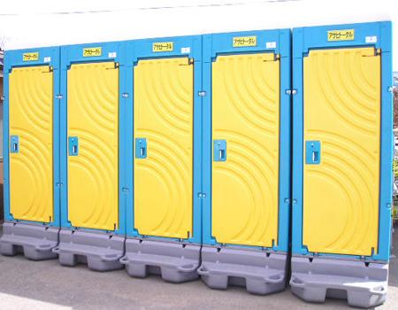 仮設トイレ及び現場資材のレンタル・リース・販売