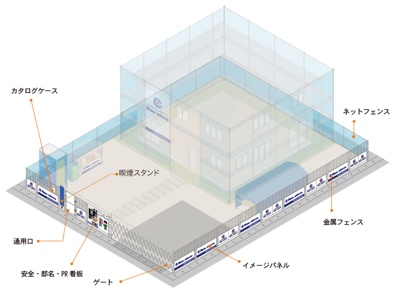 住宅建設資材(外回り)